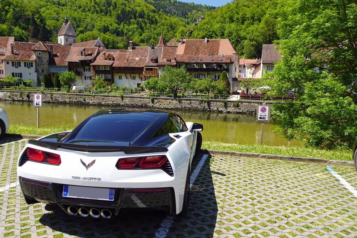 Ballade de 220 km dans le Jura coté France et coté Suisse Saint-Ursanne
